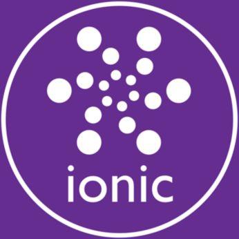 Trattamento agli ioni per capelli luminosi senza effetto crespo