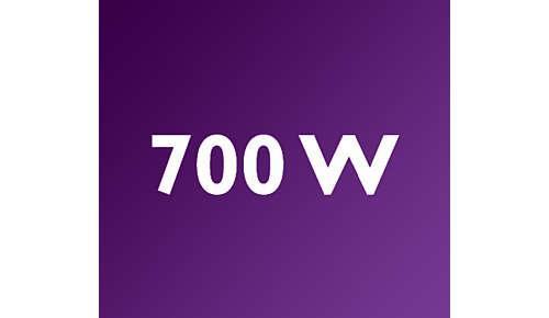 Stabmixer mit leistungsstarkem 700Watt-Motor für beste Mix-Ergebnisse