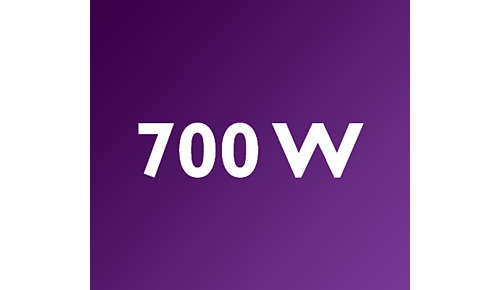 Potente frullatore con motore da 700 W per risultati ottimali