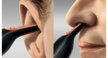 Easily reach hair inside the ear or nose - Philips Nose & Ear Trimmer Series