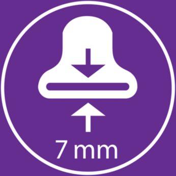 7 мм концентратор за оформяне за идеални резултати