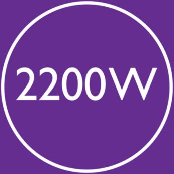 Asciugatura veloce e ad alte prestazioni da 2200 W