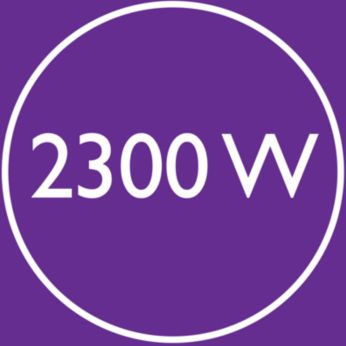 2300 W бърза, висока мощност при сушене