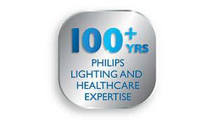 Le savoir-faire de plus de 100 ans de Philips en éclairage et soins de santé