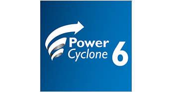 PowerCyclone6 für hervorragende Trennung von Staub und Luft