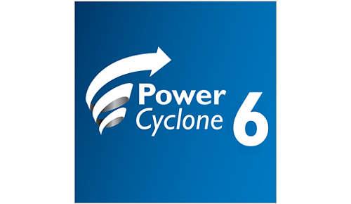PowerCyclone 6 voor een superieure scheiding van lucht en stof