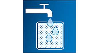 Filtre permanent lavable
