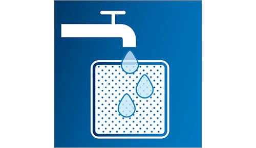 Uiterst duurzaam wasbaar filter