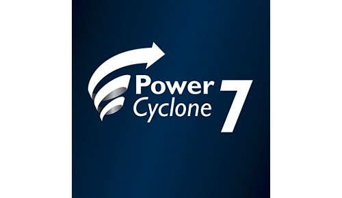 PowerCyclone 7 voor uitzonderlijke zuigkracht