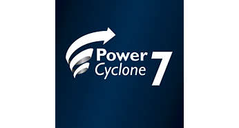 PowerCyclone 7 for enestående sugeevne