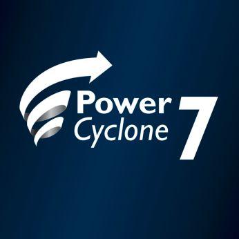 Olağanüstü emiş gücü için PowerCyclone 7