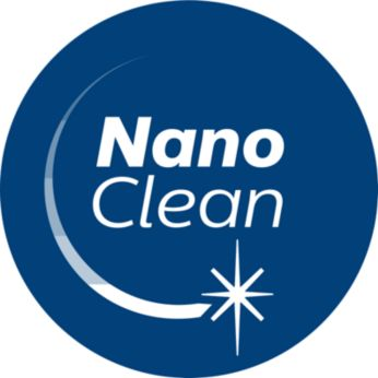 Технология NanoClean для удобного удаления пыли и грязи