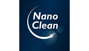 Tehnologija NanoClean za odstranjevanje prahu brez dodatne nesnage