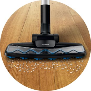 TriActive Z hard floor nozzle for dust and crumbs