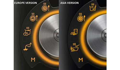 4programmes prédéfinis de cuisson automatique (20 à 25min)