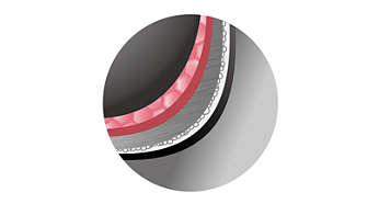Cuve aux parois ultra-épaisses de 2,0mm avec revêtement en nano-céramique