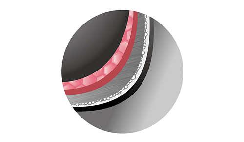 Misa wewnętrzna o solidnej grubości (2mm) z powłoką nanoceramiczną