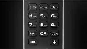 Калиброванные кнопки для удобного набора