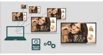 Gestiona y controla la red de forma remota a través SmartControl