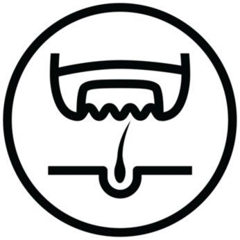 Učinkovito odstranjevanje dlačic s korenino