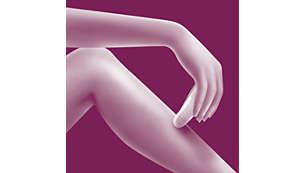Szybka depilacja nóg i ramion