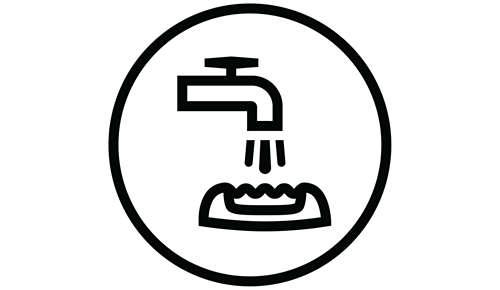 Spazzolina per la pulizia inclusa e testina di epilazione lavabile.