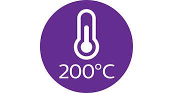 Температура профессиональной укладки (200°C)
