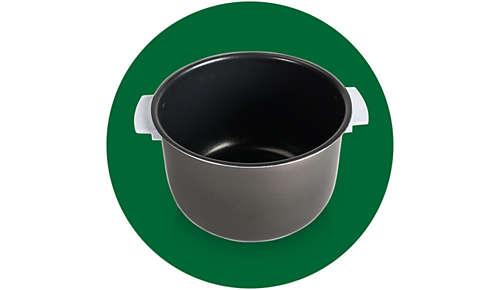 Misa z uchwytami i powłoką ceramiczną — łatwa w użyciu i czyszczeniu