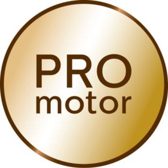Profesionalus bešepetėlis variklis