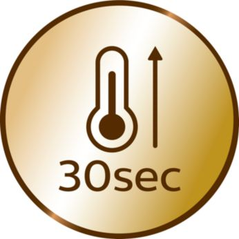 Бързо загряване само за 30 сек