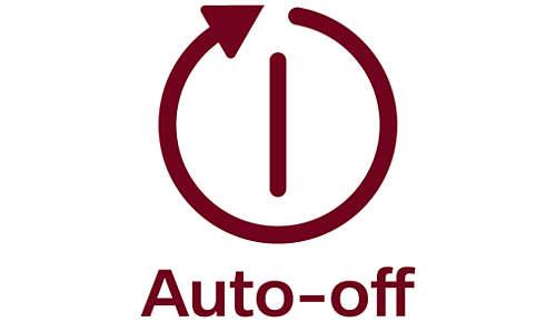 Arrêt automatique au bout de 30minutes pour plus de sécurité et d'économies d'énergie