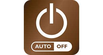 Autoavstängning efter 30 min. sparar energi och ger ökad säkerhet