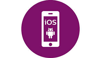 Control your treatment from your iOS or Android device