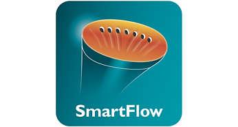 Placa de vapor aquecida SmartFlow para óptimos resultados
