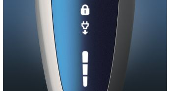3-level battery and travel lock Indicators