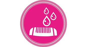 Cabezales de depilado y corte lavables para una mayor higiene