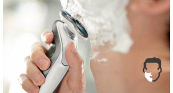 Aquatec обеспечивает удобное сухое и освежающее влажное бритье