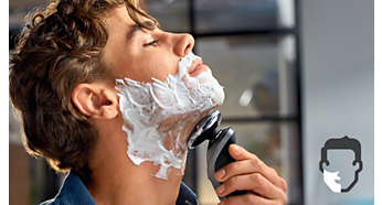 Aquatec gives you a comfortable dry or refreshing wet shave