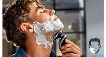 Aquatec zorgt voor comfortabel droog en verfrissend nat scheren