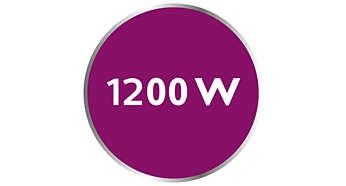 พลังสูงถึง 1200 W ปล่อยพลังไอน้ำสูงได้อย่างต่อเนื่อง
