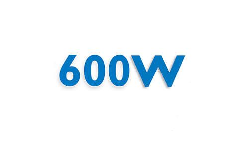 Krachtige motor van 600 W