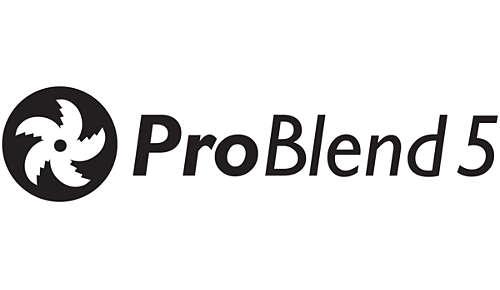 ProBlend 5-sterrenmes voor effectief mengen en mixen