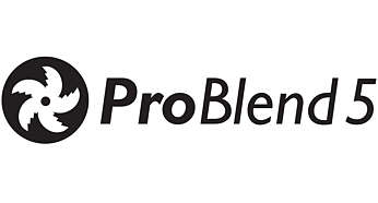 ProBlend 5 zvjezdasti rezač za učinkovito miješanje i rezanje