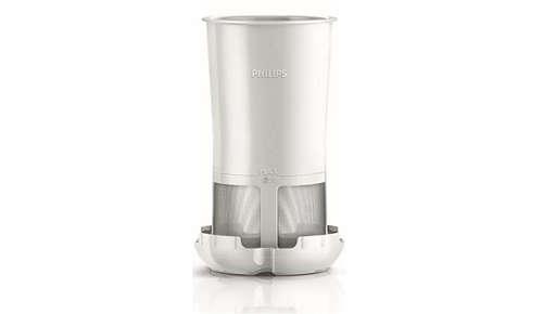 Filtr pozwala uzyskać czyste mleko sojowe lub klarowny sok bez nasion i pestek