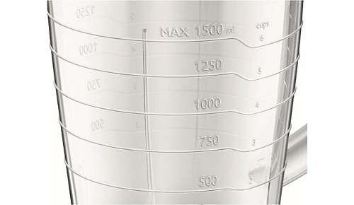 Vízszintjelző és fogantyú a könnyű használatért