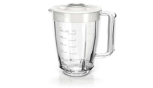 La jarra de vidrio de gran calidad evita arañazos y olores
