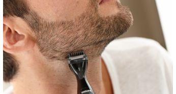 3точні гребінці для рівномірного підстригання волосся на обличчі