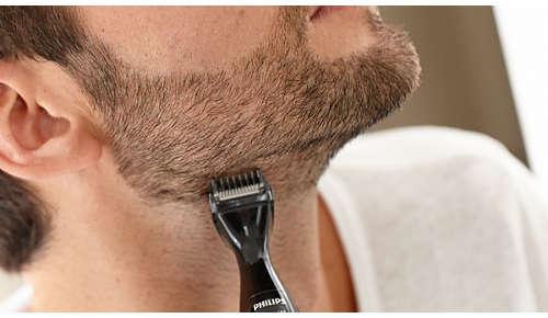3sabots de précision pour tondre uniformément votre barbe