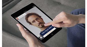 Fotorealistiske eksempler på 22 stylinger direkte på dit ansigt