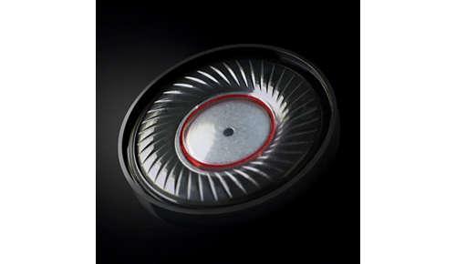 Geoptimaliseerde neodymium-drivers van 40 mm voor zuiver geluid